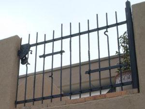 10ロートアイアン搬入口ゲート